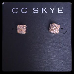 NWT CC Skye The Block Party Stud Earrings